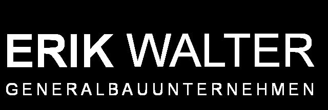Dr. Erik Walter – Generalbauunternehmen